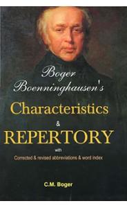 Boger's Boennınghausens's Charackteristics & Repertory